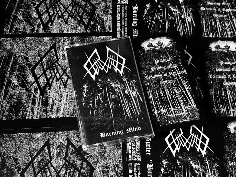 Gutter Burning Mind Depressive Illusions Records