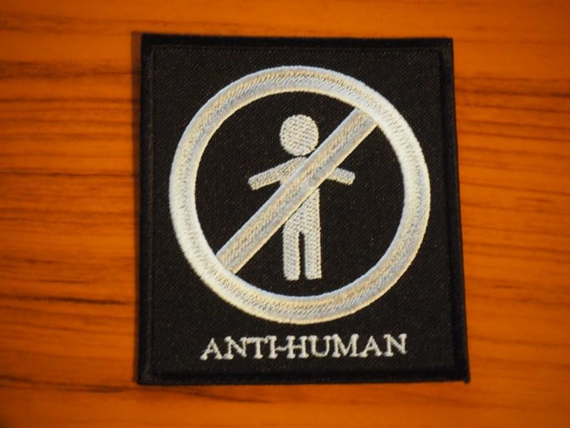 Lathe For Sale >> Anti human patch | Depressive Illusions Records