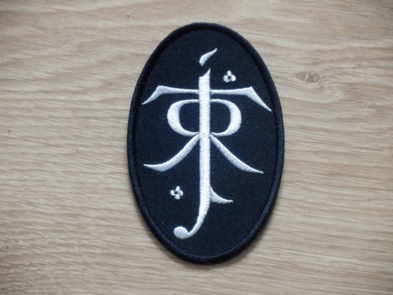 Tolkien Symbol From The Lord Of The Rings Patch Depressive