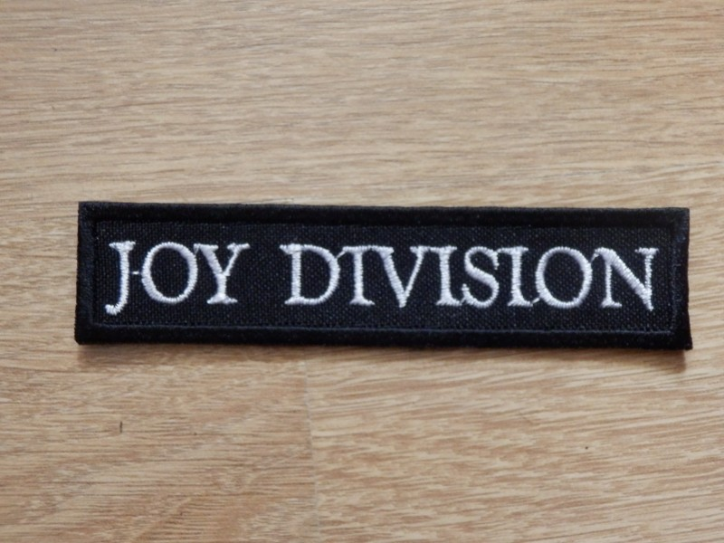 Joy Division Patch Depressive Illusions Records