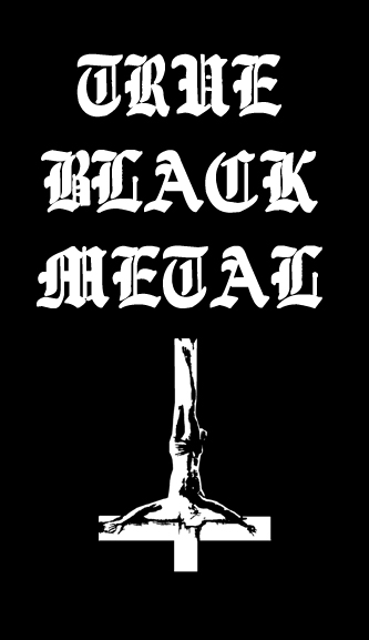 True Black Metal Patch 666 Depressive Illusions Records