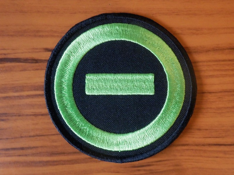Type O Negative Symbol Patch Depressive Illusions Records